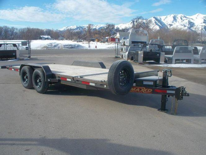 "2020 MAXXD G6X - 6"" Gravity Equipment Tilt Trailer Equipment Trailer"