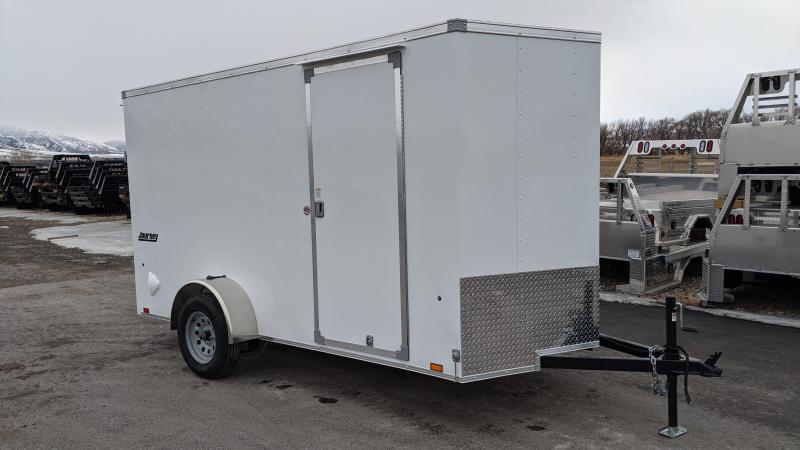 New! 2021 Pace American 6x12 Enclosed Trailer w/ Ramp Door