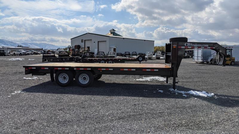 New! 2021 C&B Gooseneck 20' 14K Equipment Trailer