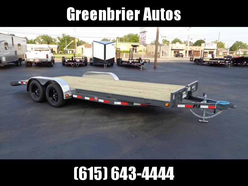 2021 PJ Trailers 20' x 5 in. Channel Carhauler (C5) Car / Racing Trailer