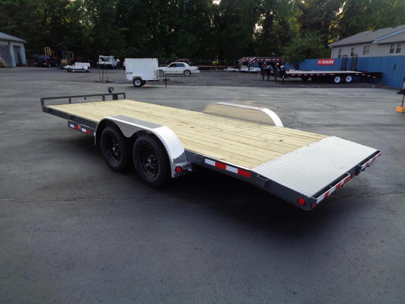 2021 PJ Trailers 20' x 5 in. Channel Carhauler (C5) Car / Racing Trailer