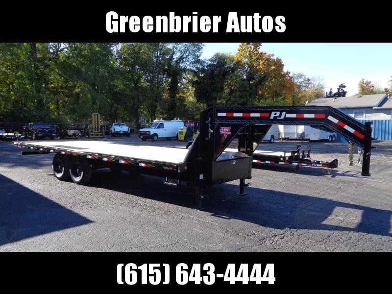 2021 PJ Trailers 24' HD Deckover Tilt (T9) Flatbed Trailer