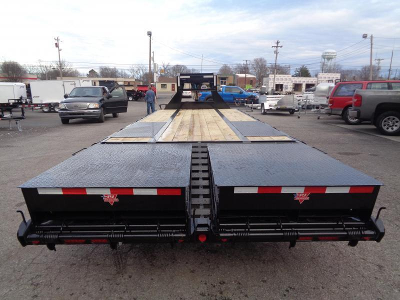 2021 PJ Trailers 25' Low-Pro Flatdeck with Duals (LD) Flatbed Trailer