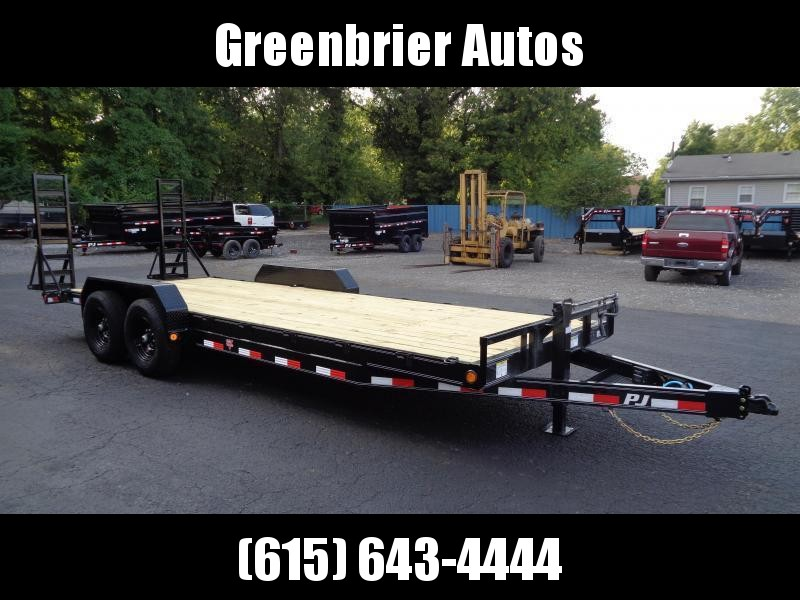 2021 PJ Trailers 22' x 6 in. Channel Equipment (CC) Equipment Trailer