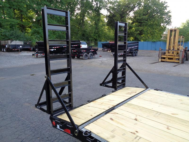 2022 PJ Trailers 22' x 6 in. Channel Equipment (CC) Equipment Trailer