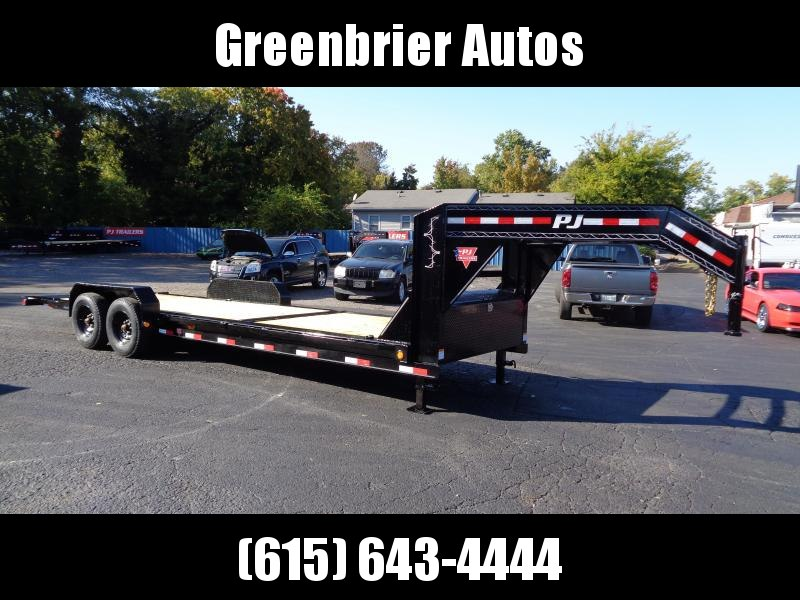 2021 PJ Trailers 24' HD Equipment Tilt 6 in. Channel (TJ) Equipment Trailer