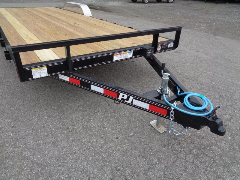 2021 PJ Trailers 22' x 5 in. Channel Carhauler (C5) Car / Racing Trailer
