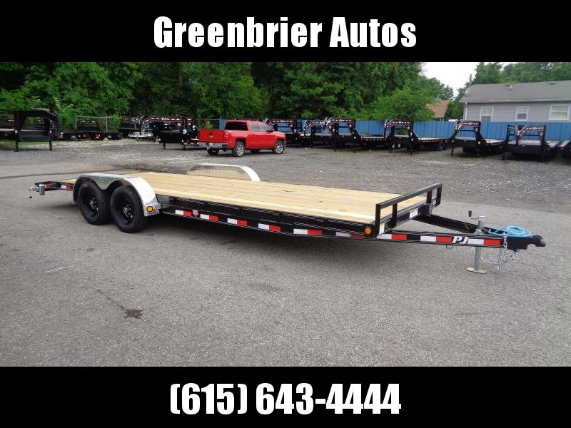 2021 PJ Trailers 22' x 5 in. Channel Carhauler (C5) Car / Racing Trailer