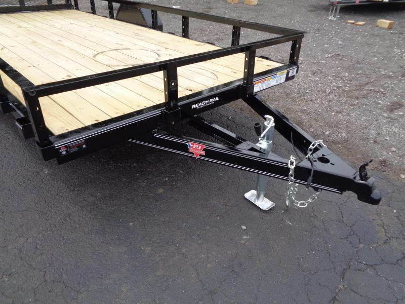 2021 PJ Trailers 14' x 77 in. Single Axle Channel Utility (U7) Utility Trailer