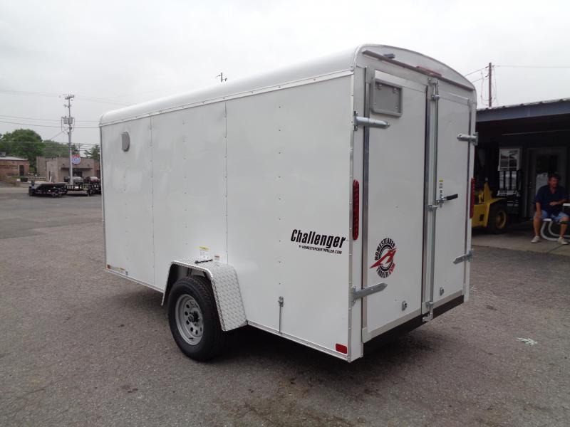 "2021 Homesteader Challenger 6' x 12' x 6'2"" Enclosed Cargo Trailer"