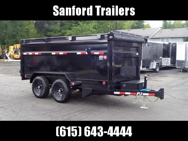"2022 PJ Trailers 12' X 72"" Tandem Axle Dump (D3) Dump Trailer"