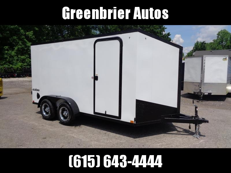"2021 Impact Trailers Tremor Blackout 7' x 14' x 6'6"" Enclosed Cargo Trailer"