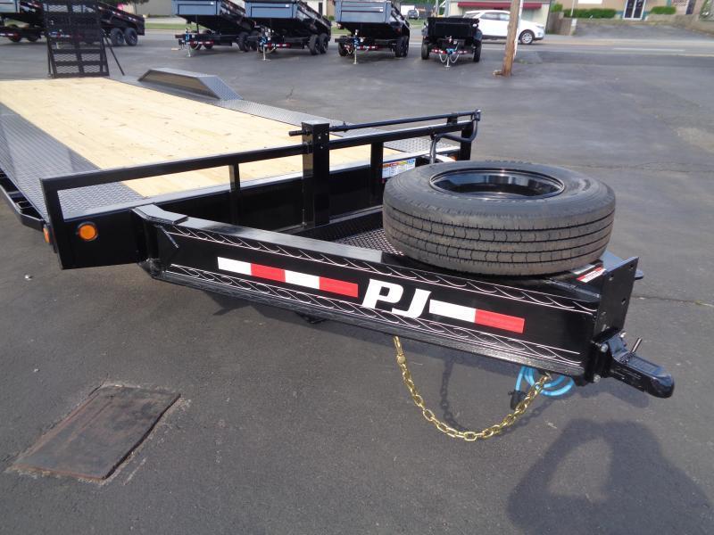 "2022 PJ Trailers 102"" x 24' (H7)10"" Pro-Beam Super-Wide Equipment Equipment Trailer"