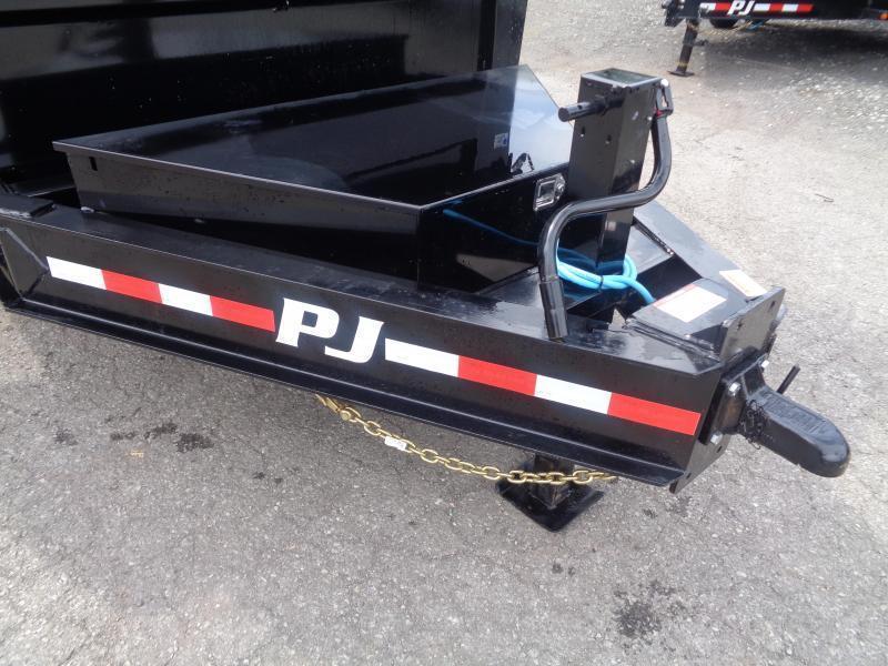 """2021 PJ Trailers 16' x 83"""" HD Low-Pro Dump (DE) Dump Trailer"""