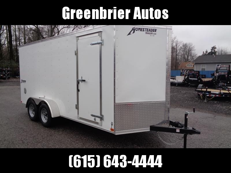 "2021 Homesteader Intrepid 7' x 16' x 6'6"" Enclosed Cargo Trailer"