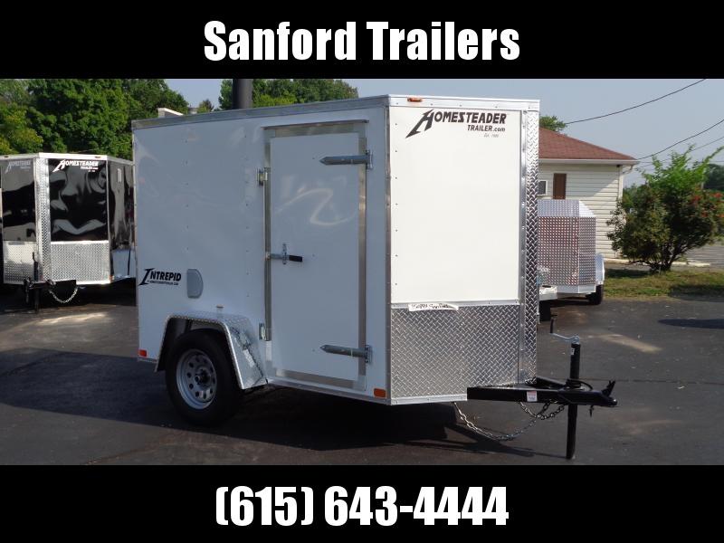 2021 Homesteader Intrepid 5' x 8' x 5.5' Enclosed Cargo Trailer
