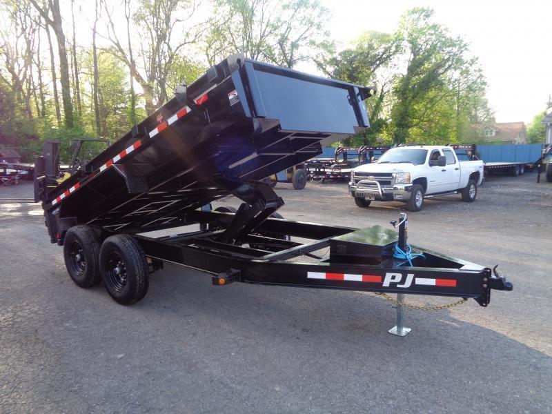 """2021 PJ Trailers 14' x 83"""" Low-Profile Dump (DG) Dump Trailer"""