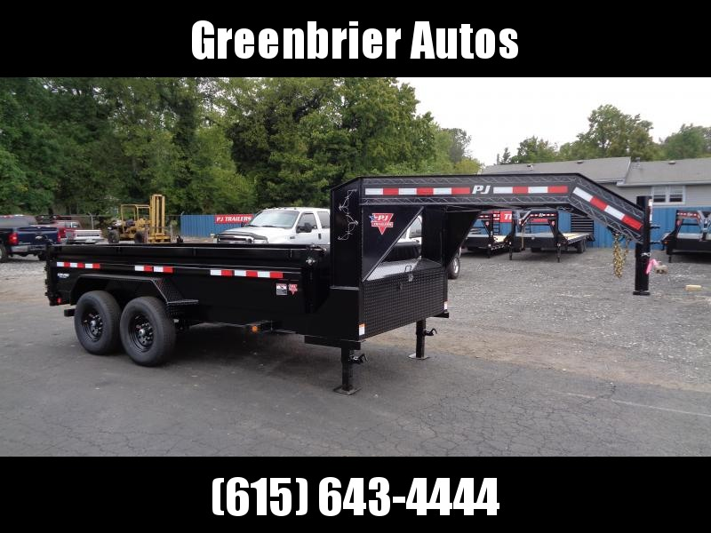 2021 PJ Trailers 14' x 83 in. Pro Series Low Pro Dump (DL) Dump Trailer