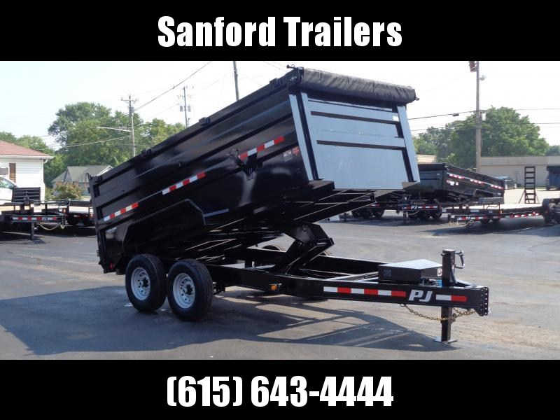 "2022 PJ Trailers 14' x 83"" Pro-Series Low Pro High Side Dump (DM) Dump Trailer"