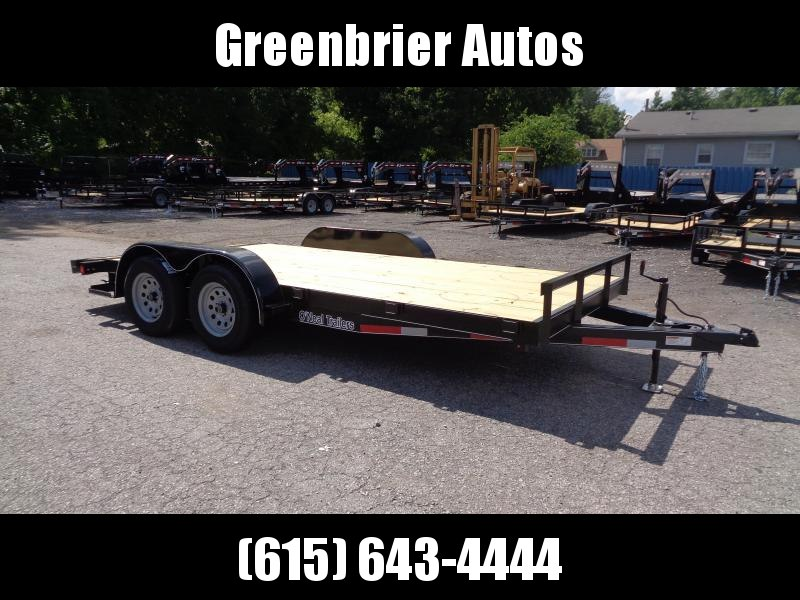 "2020 O'Neal 6'10"" x 16' Car / Racing Trailer"