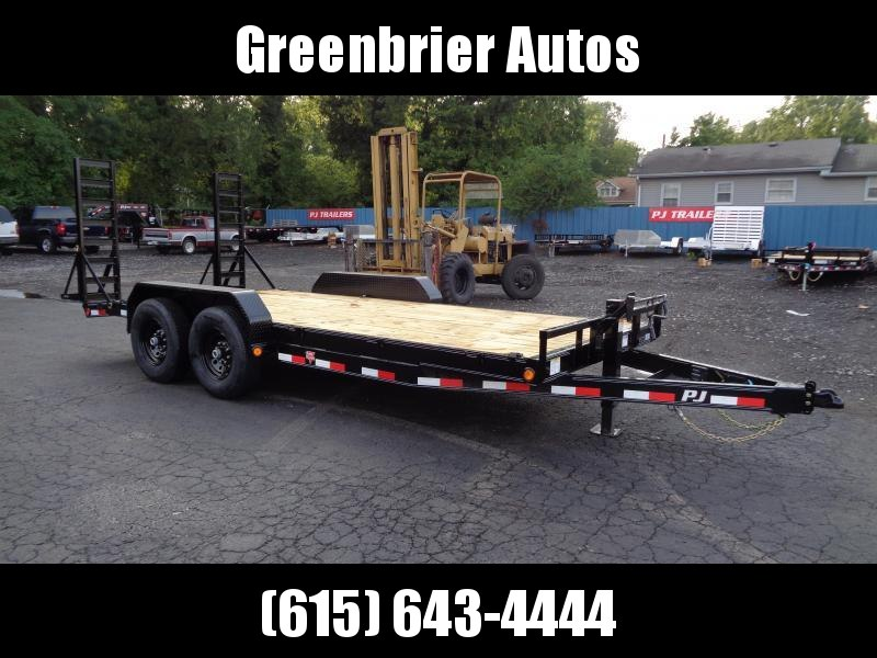 2021 PJ Trailers 18' x 6 in. Channel Equipment (CC) Equipment Trailer