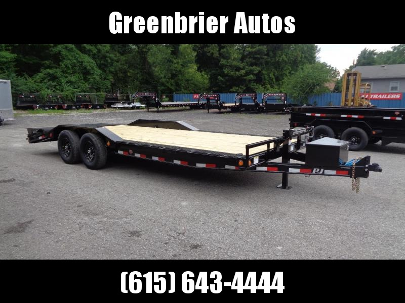 2021 PJ Trailers 22' x 6 in. Channel Super-Wide (B6) Car / Racing Trailer