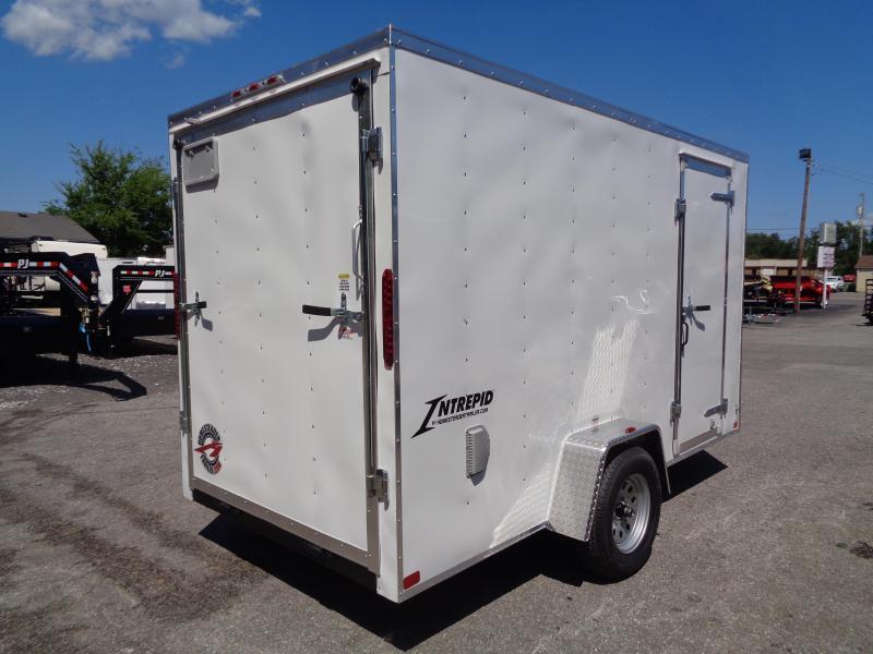 "2021 Homesteader Intrepid 6' x 12' x 6'6"" Enclosed Cargo Trailer"