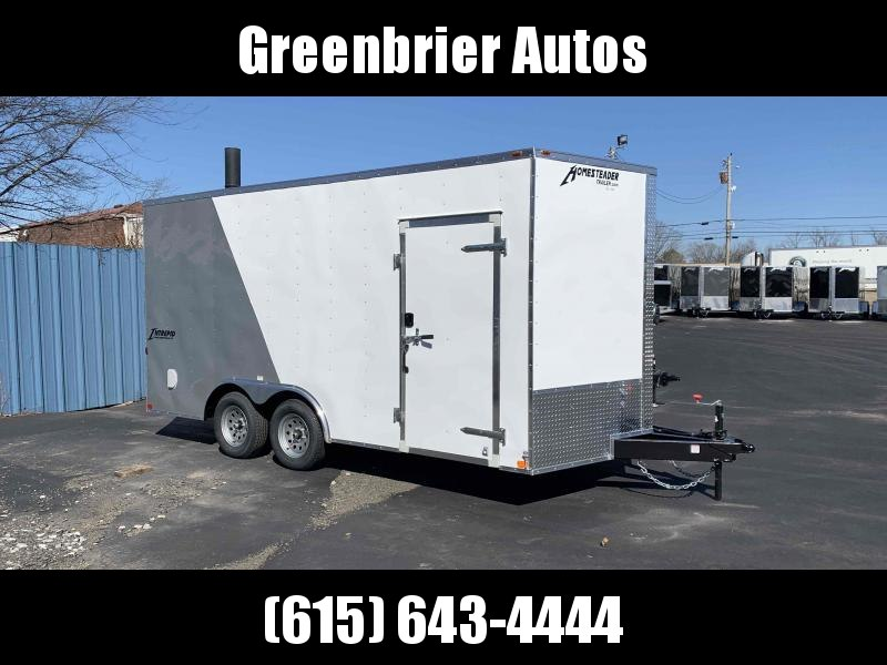 2021 Homesteader Trailers Intrepid 8.5' x 16' x 7' Enclosed Cargo Trailer