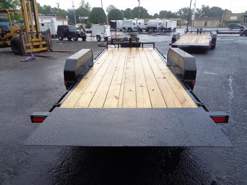 2021 PJ Trailers 20' Powered Full Tilt (TF) Equipment Trailer