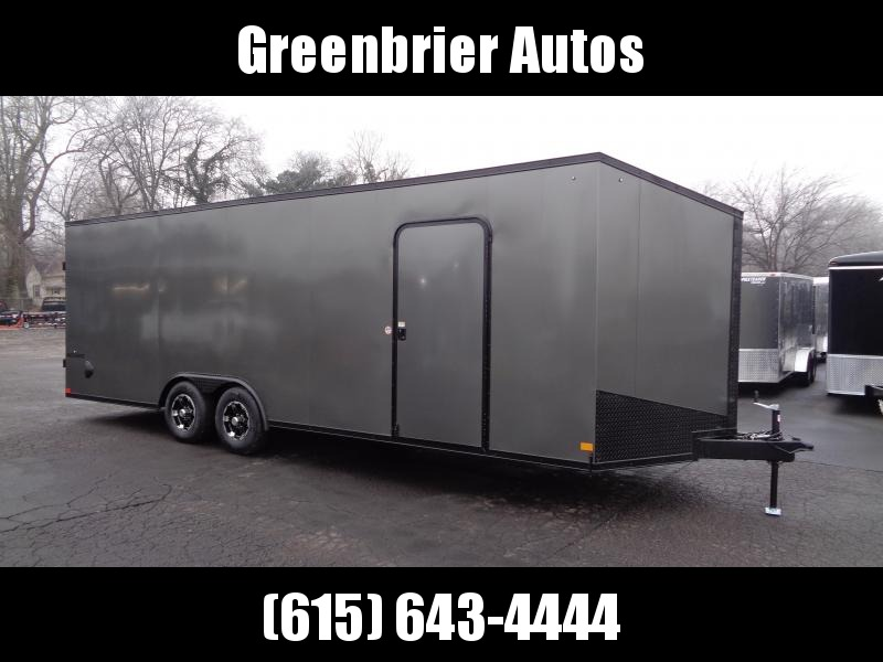 2021 Impact Trailers Shockwave Blackout 8.5' x 24' x 7' Car Hauler Enclosed Cargo Trailer