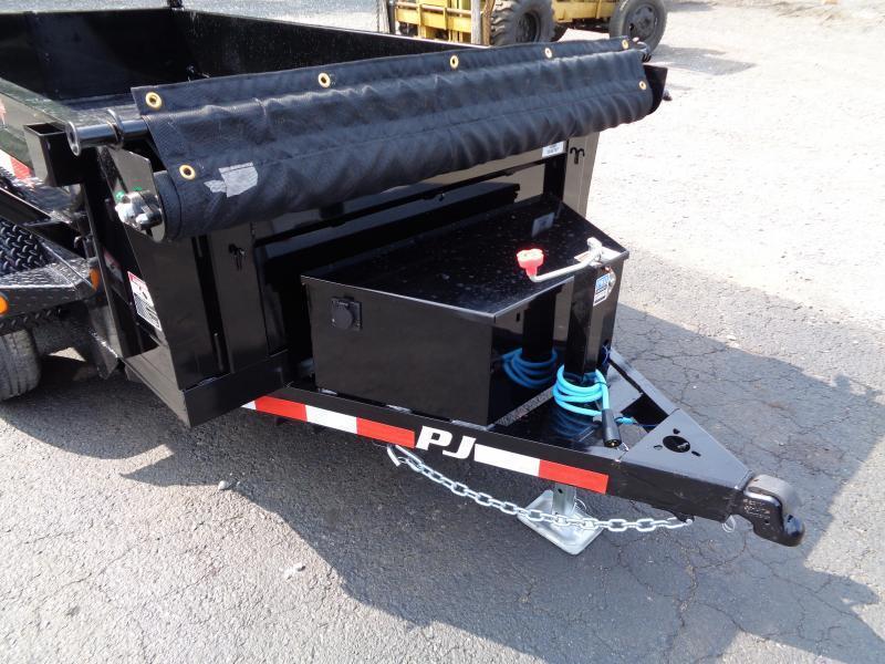 "2022 PJ Trailers 10' x 60"" Utility Dump (D5) Dump Trailer"