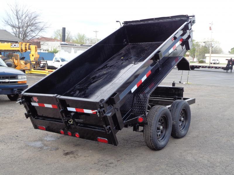 "2021 PJ Trailers 60"" x 10' Utility Dump (D5) Dump Trailer"