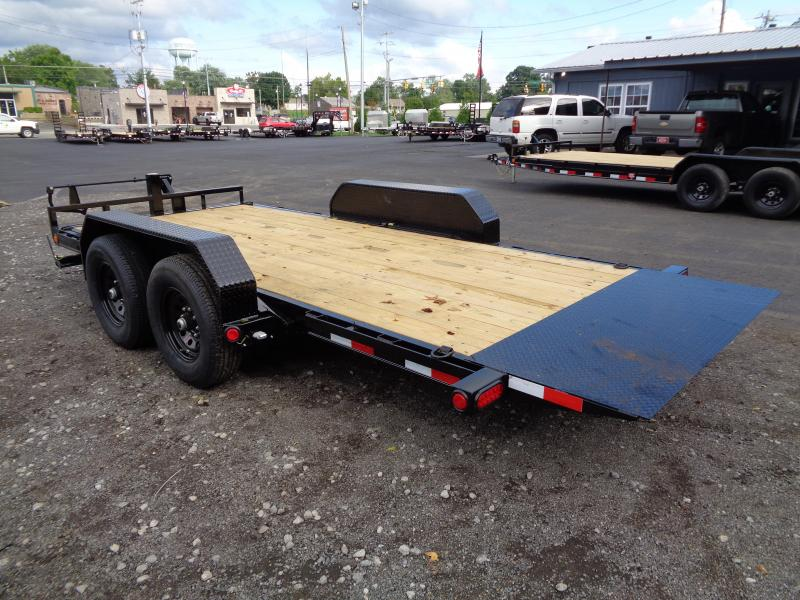 2021 PJ Trailers 16' x 6 in. Channel Equipment Tilt (T6) Equipment Trailer
