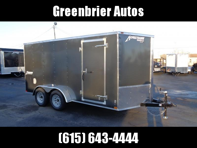 2021 Homesteader Intrepid 7' x 14' x 6' Enclosed Cargo Trailer