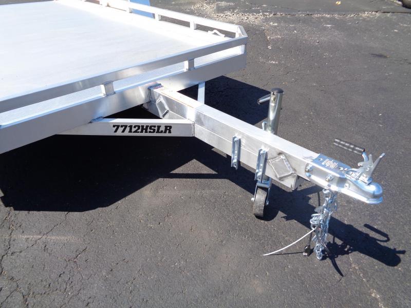 2022 Aluma 7712HSLR Utility Trailer