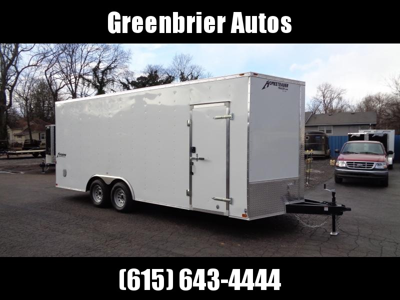 2021 Homesteader Intrepid 8.5' x 20' x 7' Enclosed Cargo Trailer