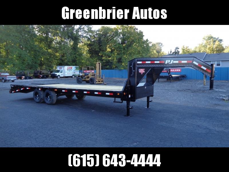 2021 PJ Trailers 25' Low-Pro Flatdeck with Singles (LS) Flatbed Trailer