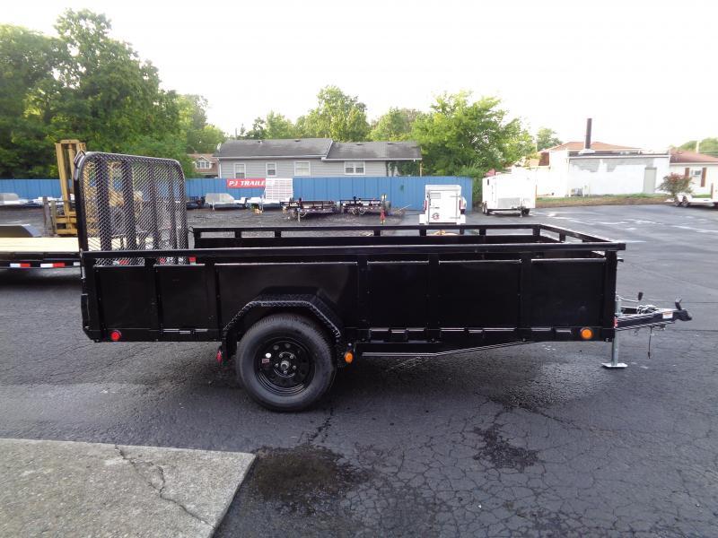 2021 PJ Trailers 12' x 77 in. Single Axle Channel Utility (U7) Utility Trailer