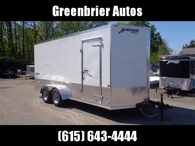 2020 Homesteader Intrepid 7' x 16' x 7' OHV Pkg Enclosed Cargo Trailer