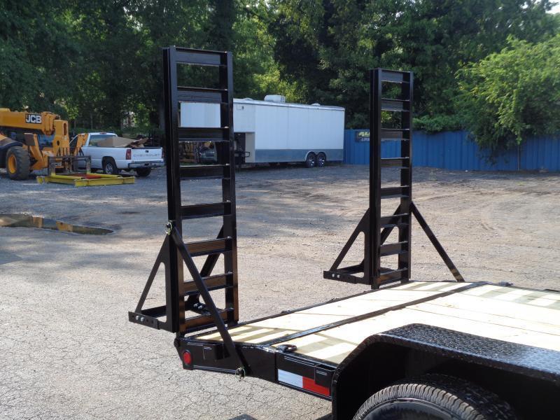 2022 PJ Trailers 18' x 6 in. Channel Equipment (CC) Equipment Trailer