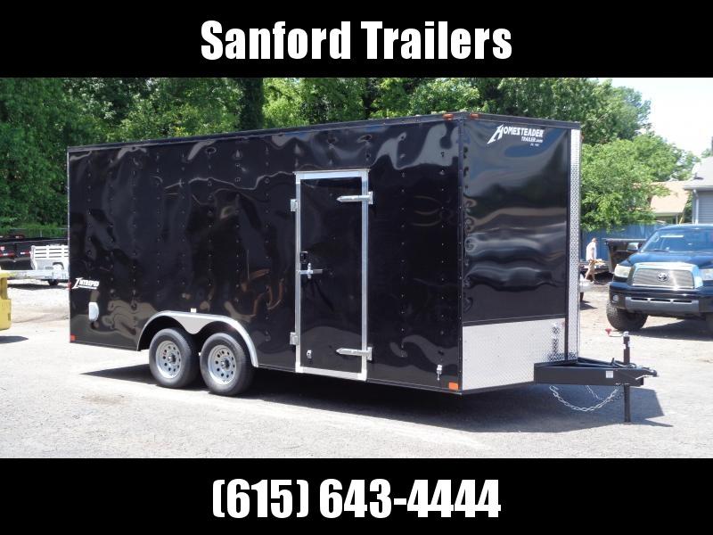 2021 Homesteader Intrepid 8.5' x 18' x 7' Enclosed Cargo Trailer