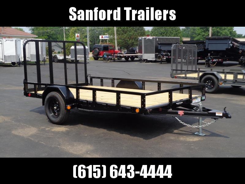 "2022 PJ Trailers 12' x 83"" Single Axle Channel Utility (U8) Utility Trailer"