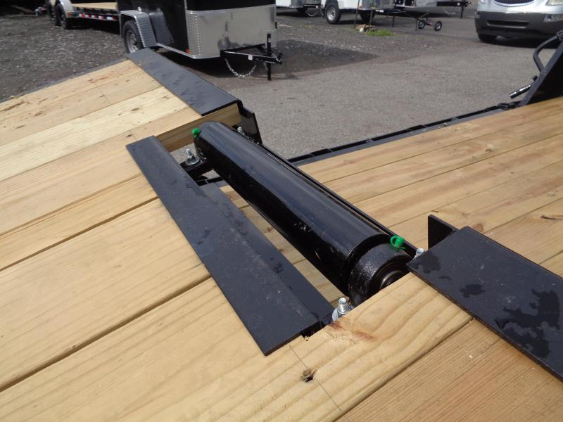 2021 PJ Trailers 24' x 6 in. Channel Equipment Tilt (T6) Equipment Trailer