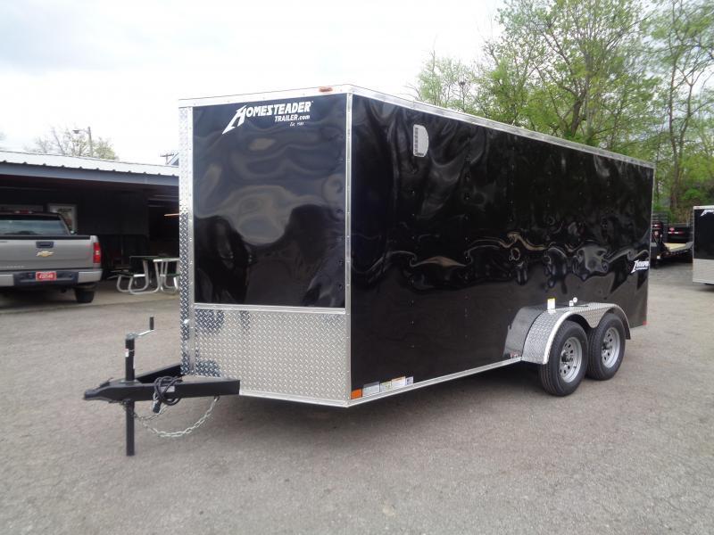 2021 Homesteader Intrepid 7' x 16' x 6' Enclosed Cargo Trailer