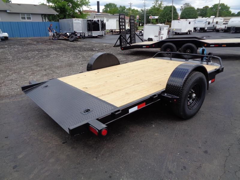2021 PJ Trailers 13' Single Axle HD Tilt (T1) Equipment Trailer