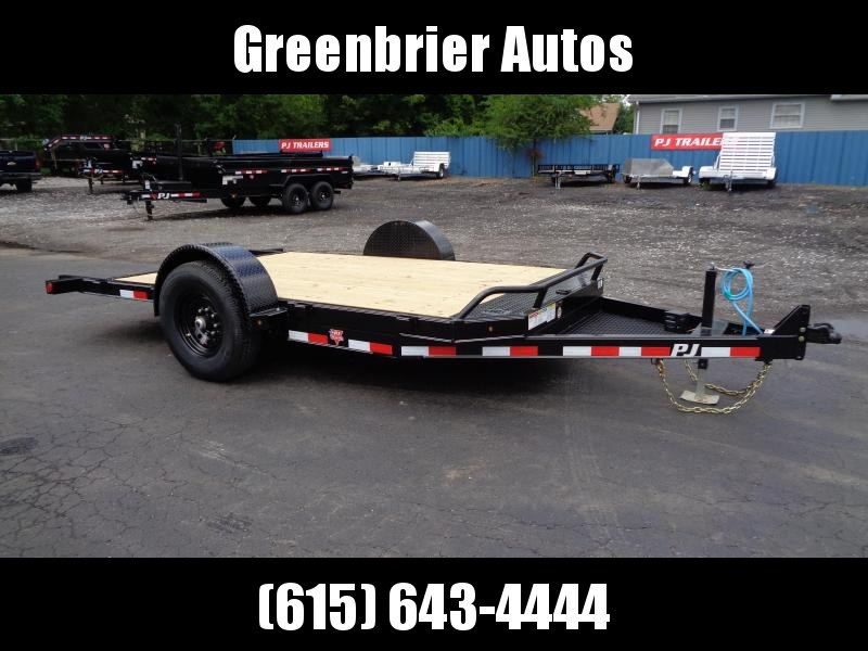 2021 PJ Trailers 13' Single Axle HD Tilt (T1) Equipment Trailer