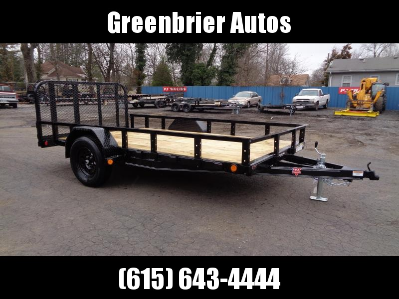 2021 PJ Trailers 12' x 77 in. Single Axle Channel Utility (U7) Utility Trailer