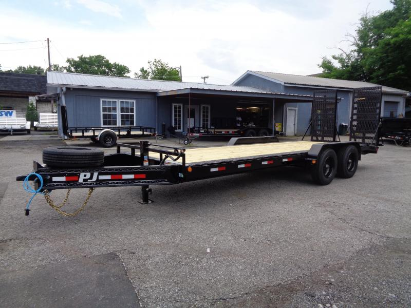 "2021 PJ Trailers 22' x 10"" Pro-Beam Equipment (H5) Equipment Trailer"