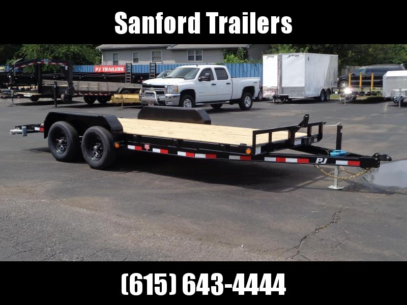 2022 PJ Trailers 18' x 5 in. Channel Equipment (CE) Equipment Trailer
