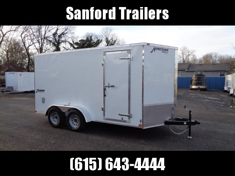 "2021 Homesteader Intrepid 7' x 14' x 6'6"" Enclosed Cargo Trailer"